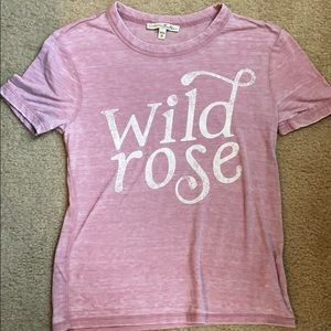 Express Graphic Pink Tee! XS